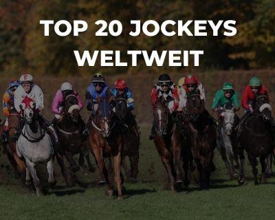 Top 20 Jockeys Weltweit