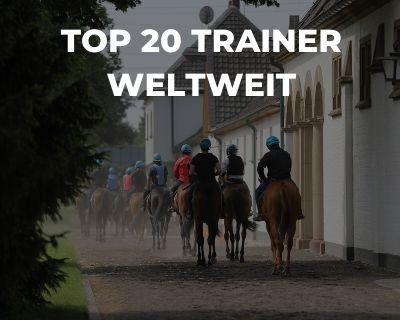 Top 20 Trainer Weltweit