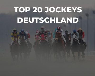 Top 20 Jockeys Deutschland